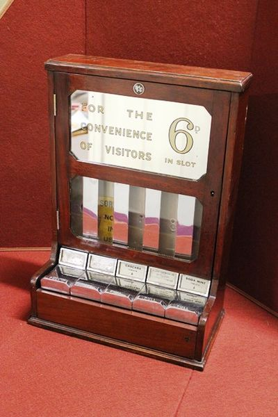 Early C20th Chemist Shop Dispensing Cabinet