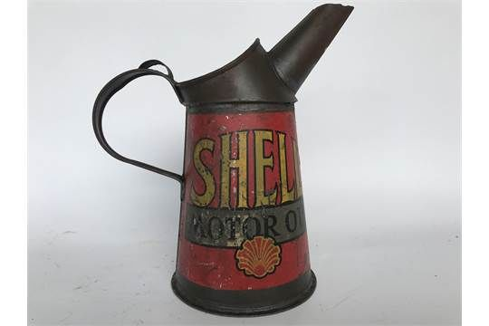 Early Shell Oil Pourer Jug
