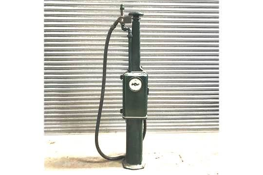 Early Wayne One Gallon Hand Operated Petrol Pump