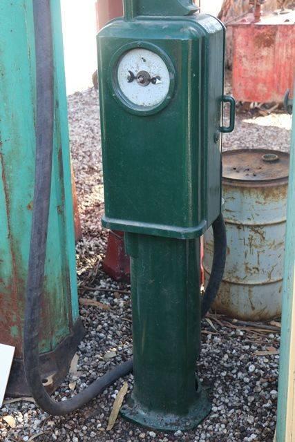 Early Wayne One Gallon Hand Operated Petrol Pump
