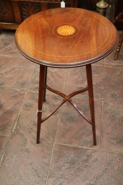 Edwardian Inlaid Table