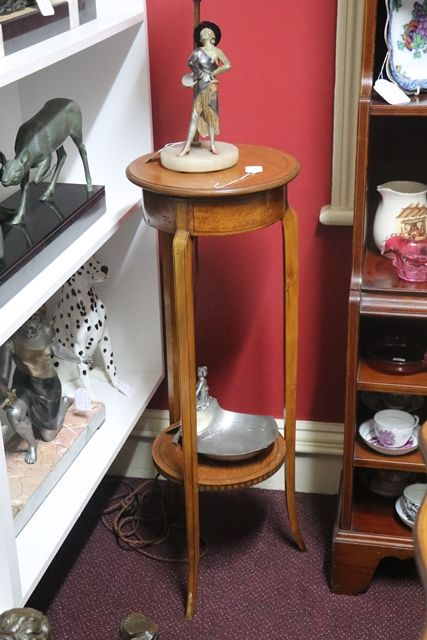 Edwardian Satinwood Pedestal