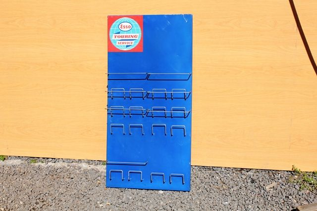 Esso Tin Map Holder Rack