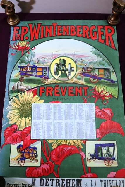 Farming Poster 1913 F and P Wintenberger CalendarPoster