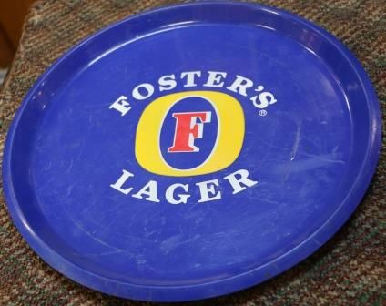 Fosters Beer Pub Tray