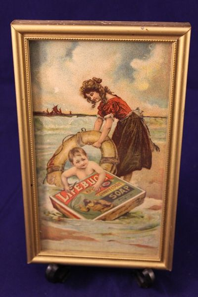 Framed LifeBouy Soap Print