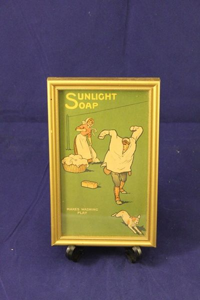Framed Sunlight Soap Print