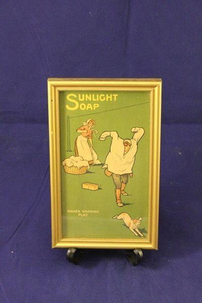 Framed Sunlight Soap Print