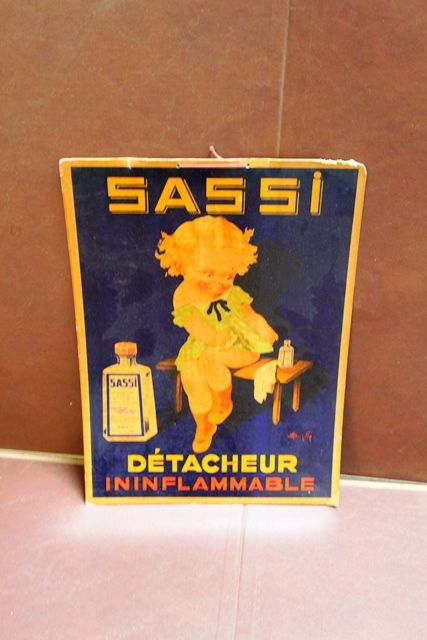 French Advertising Card