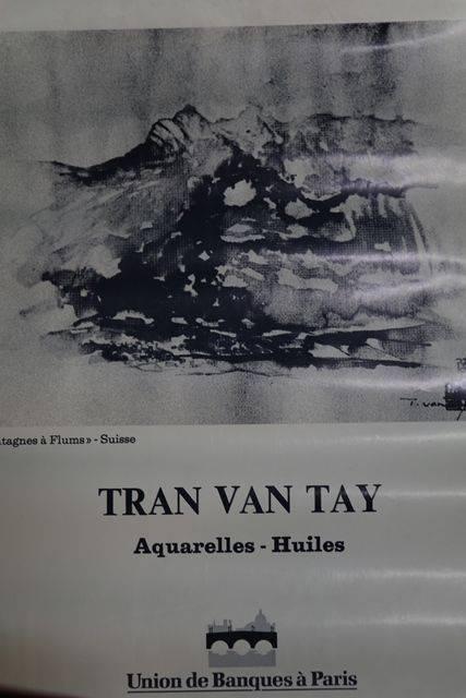 French Art Poster Tran Van Tay  Paris 1984