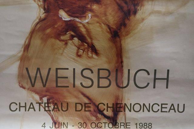 French Art Poster Weisbuch 1988