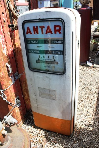 French Boutillon Electric Petrol Pump For Restoration
