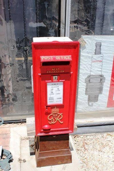 Genuine Antique British Post Box