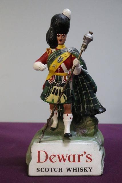 Genuine Dewars Scotch Whisky Figure