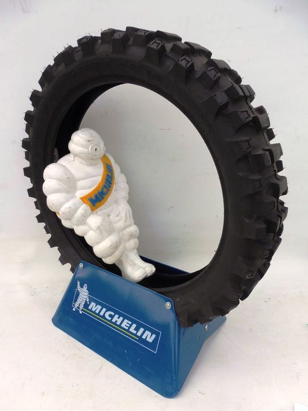 Genuine Michelin Tyre and Bibendum Advertising Display
