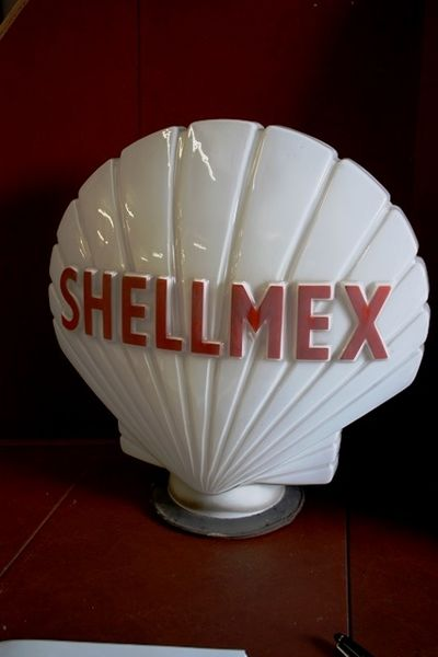 Genuine Shellmex Glass Clam Globe Arriving Soon