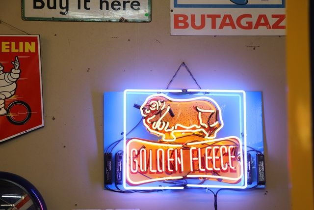 Golden Fleece Light Box