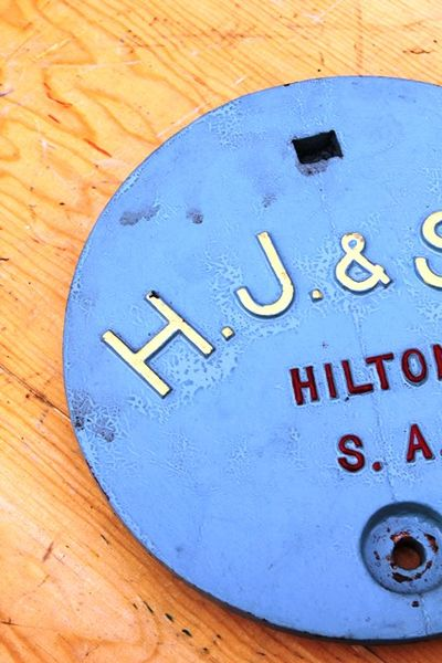 HJ and Sons Cast Iron Tank Cover