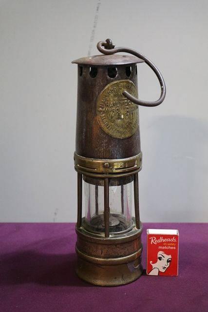 Hailwood + Ackroyd Ltd Miners lamp