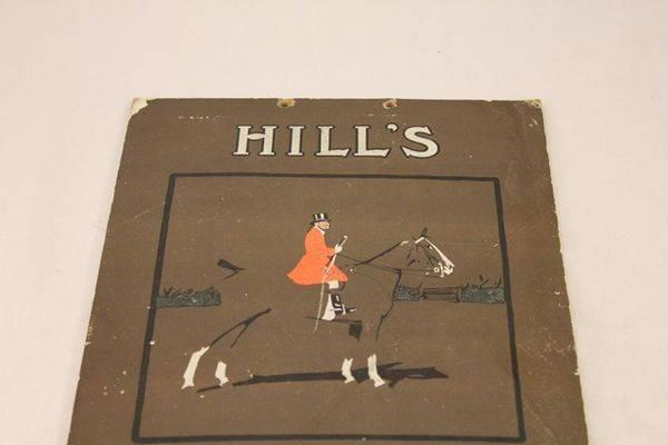 Hills Smoking Mixture Ad Card
