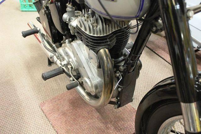 Historic 1948 BSA M21 591cc Single Motorcycle