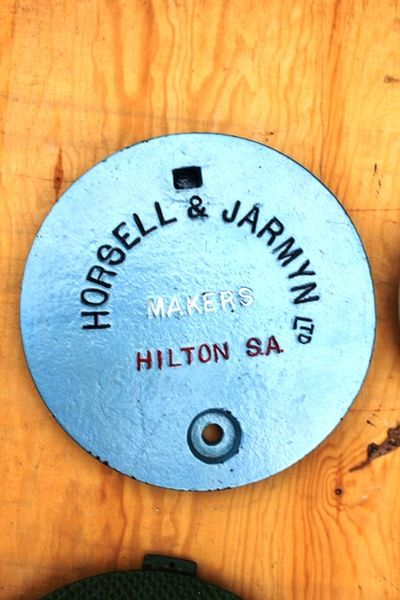 Horsell And Jarmyn Cast Iron Tank Cover