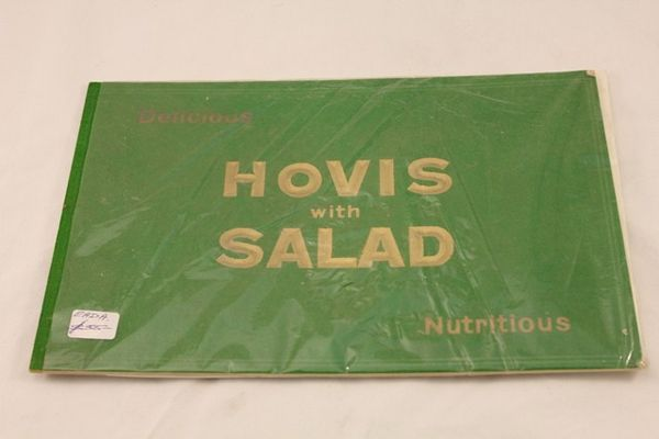 Hovis Bread With Salad Ad Card