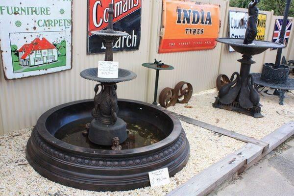 Ibis 2 Tiered Cast Iron Fountain