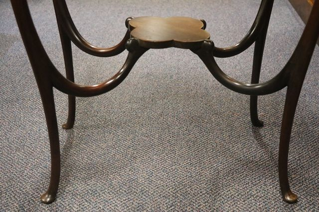 Ivory Inlaid table