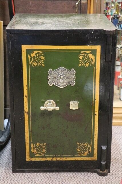 JCartwright and Son West Bromwich Antique Safe