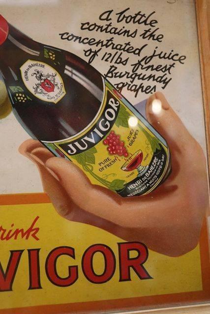 Juvigor Framed Advertising Card