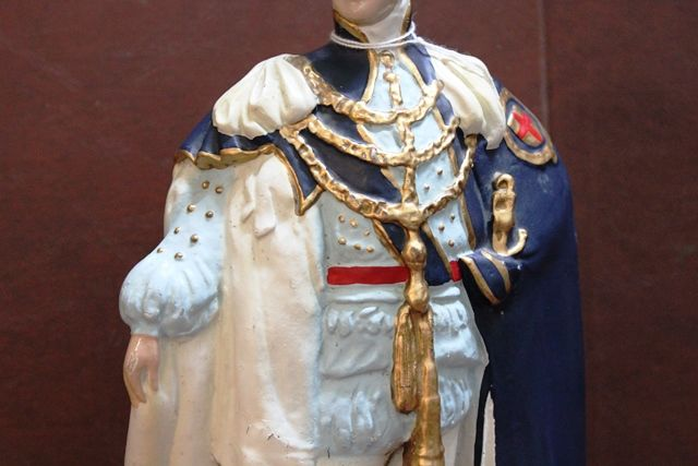 King George V Rubberoid Figure