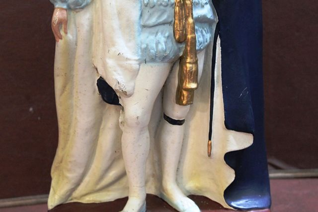 King George V Rubberoid Figure