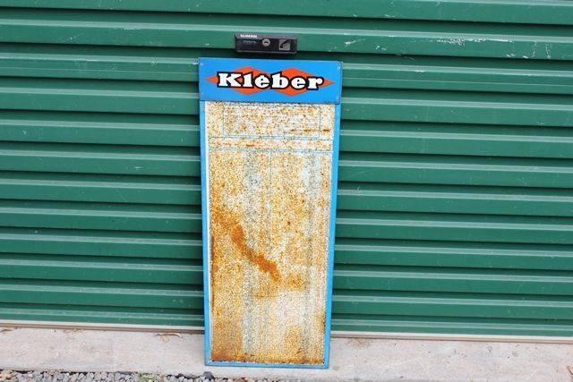 Kleber Tin Tyre Chart