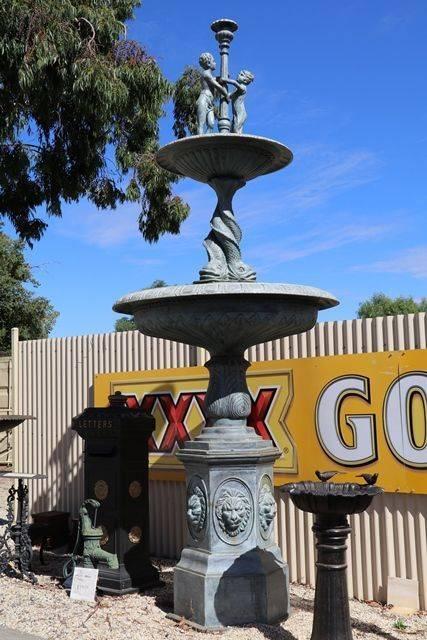 Large Ashton Cast Iron 2 Tier Fountain