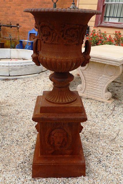 Large Dorchester Urn on Lion Base