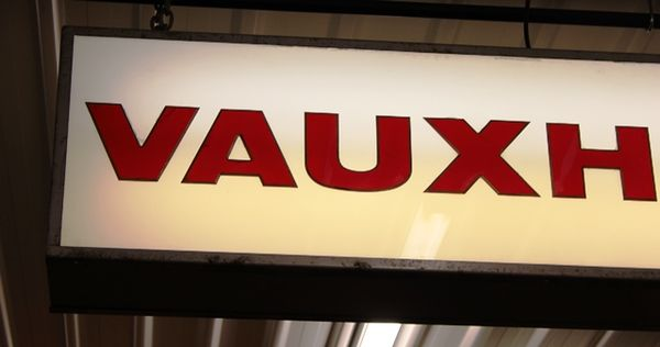 Large Double Sided Vauxhall Light Box