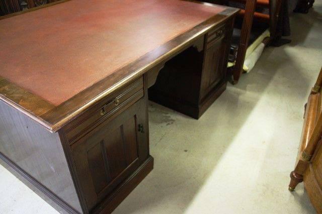 Large Edwardian Partners Desk