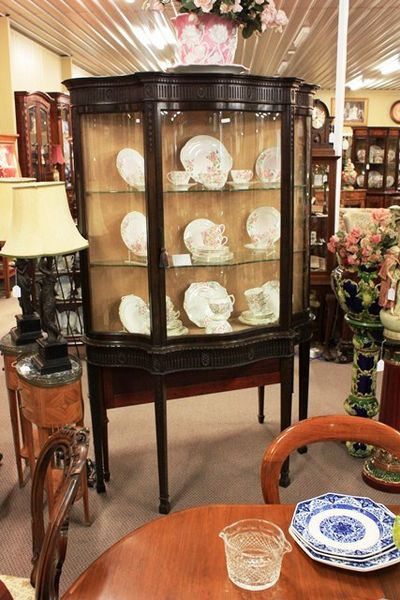 Late Victorian Mahogany Display Cabinet