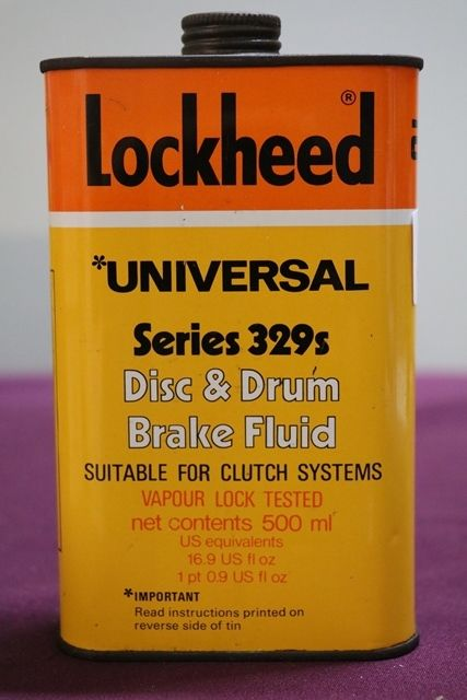 Lockheed Brake Fluid Tin
