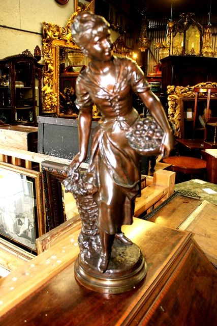 Lovely C19th Bronze Figure by Kossowski