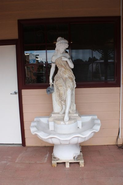 Marble Lady fountain