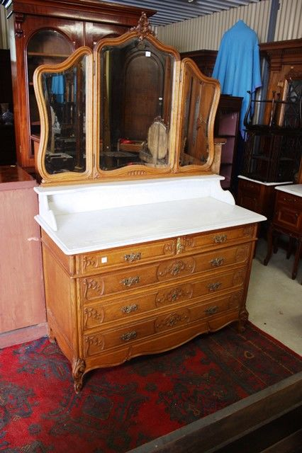 Marble Top Bathroom Suite