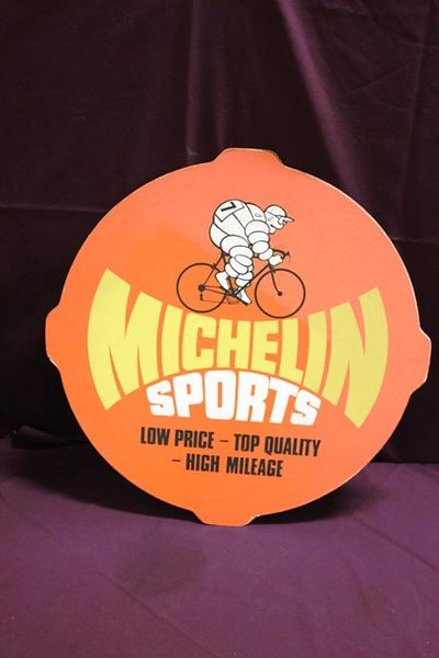 Michelin Sports Hard Board Advertising Sign
