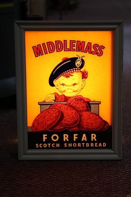 Middlemass Shop Advertising Light Box andquotWorkingandquot