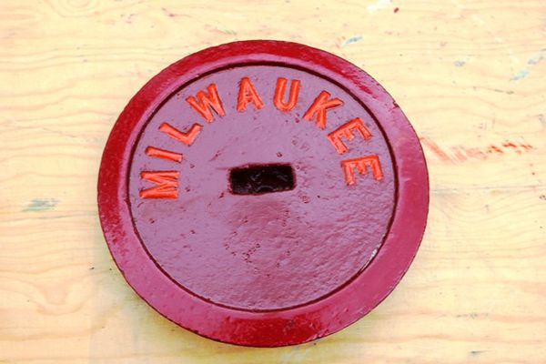 Milwaukee Cast Iron Tank Cover
