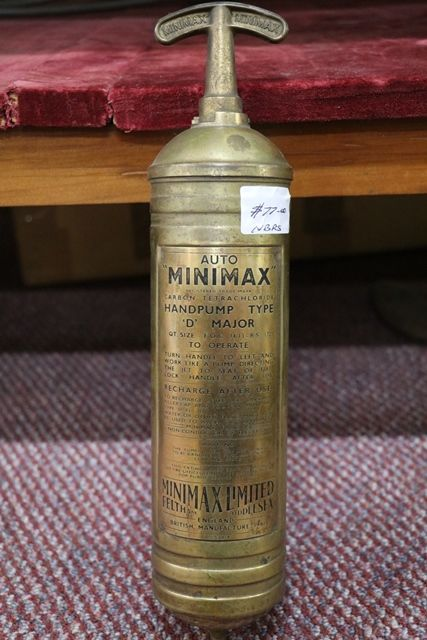 Minimax Hand Pump Fire Extinguisher