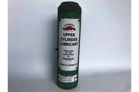 Mobil Upper Cylinder Lubricant Dispensing Cabinet