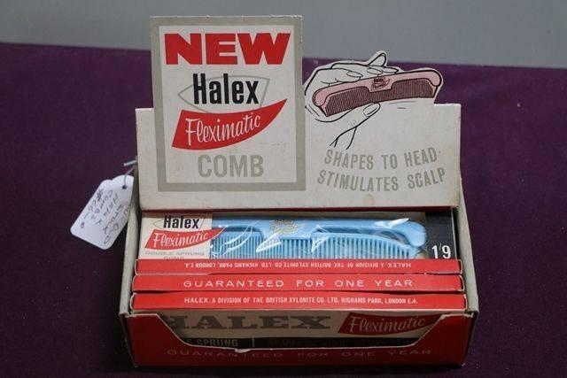 New Old Stock Halex Combs