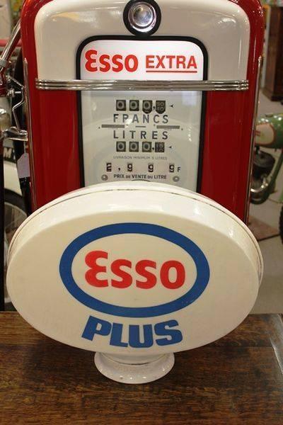 Original Acrylic Esso Plus Globe
